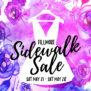 2016 Sidewalk Sale Email Graphic